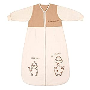 Slumbersac Saco dormir bebé invierno manga larga aprox. 3,5 Tog – de dibujos – varias tallas: de 0 a 6 meses