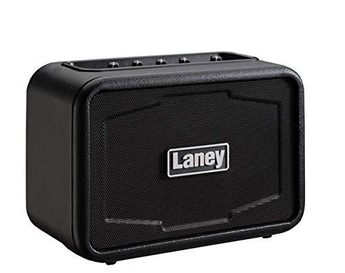 Laney Mini Series Gitarrenverstärker mit Smartphone-Schnittstelle ST Eisenherz (ST Ironheart) Stereo Schwarz