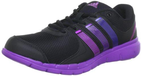 adidas a.t. 120, Chaussures de gymnastique femme Noir - Schwarz (Black 1 / Blast Purple F13 / Ray Purple F13)
