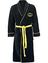 Batman Logo Peignoir noir