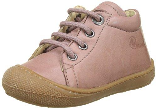 Naturino Baby Mädchen 3972 Sneaker, Pink (Rosa), 23 EU - Baby Soft-sohlen Leder-booties