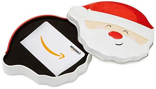 Carte Cadeau Amazon.fr - Dans un coffret Père Noël Tout Sourire