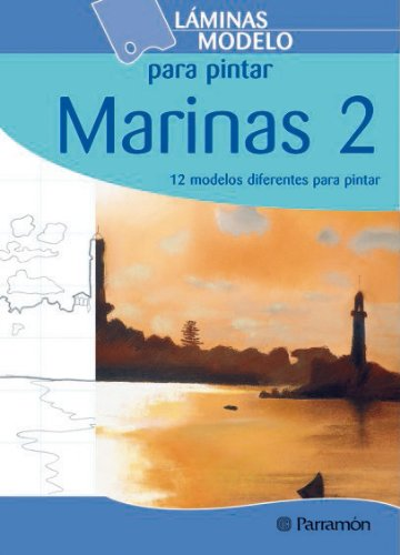 LAMINAS MODELO PARA PINTAR MARINAS 2 (Láminas modelo para pintar)