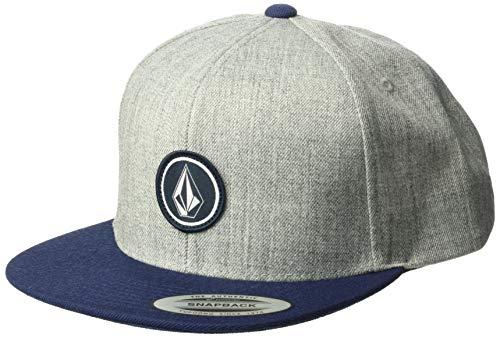Volcom Herren Quarter Twill Cap-Snapback, Medium Grey, One Size 6-panel-twill Cap