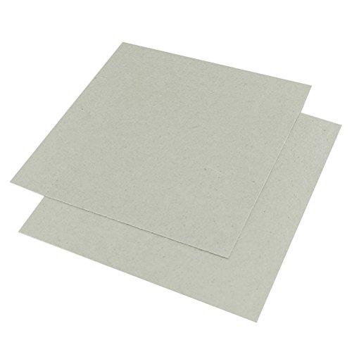 OUNONA 2 Pcs Remplacement Mica Plaques pour Four À Micro-ondes 13 x 13 cm