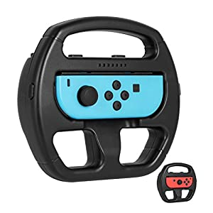 Nintendo Switch Wheel Mario Kart, Keten Switch Steering Joy-Con Wheel for Nintendo Switch Games (2 Pack)