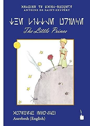 The Little Prince: Der kleine Prinz – English, Transliteriert ins