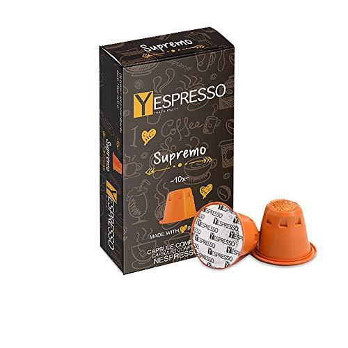 100 capsule nespresso compatibili (supremo)
