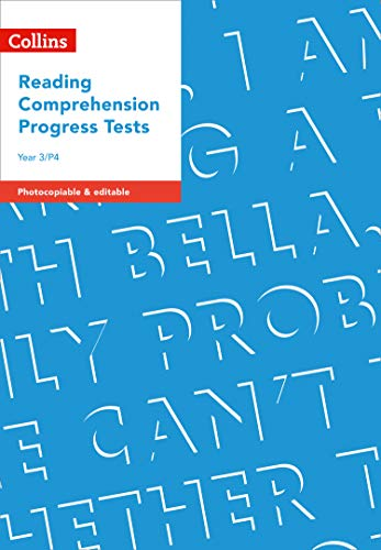 Year 3/P4 Reading Comprehension Progress Tests (Collins usato  Spedito ovunque in Italia