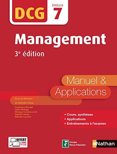 Management - DCG 7 - 3e édition