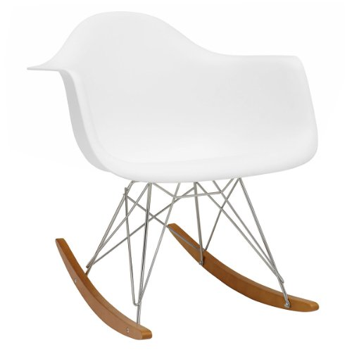 Vitra eames rar 4401130004 chair plastic armchair rocking for Rocking chair eames vitra