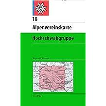Hochschwabgruppe: Wege und Skitouren - Topographische Karte 1:50000 (Alpenvereinskarten)