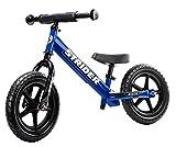 Laufrad Strider - 12 Sport Balance Bike, von 18 Monaten bis zu 5 Jahren, blau bei Amazon