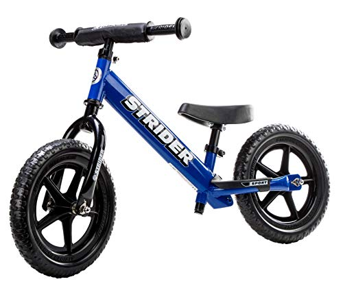 The Strider 12 Sport Balance Bike, Ages 18 Months to 5 Years live up to the hype associated with the manufacturer. This one is very flexible in terms of seat and handlebars height so as to suit the needs of the youngest toddlers and pre-schoolers. Assembly is pretty easy and the bike is lightweight enough for kids of all ages to handle. Comfort is at the core of its design, with a well-padded seat installed. On top of that, the bike requires no complicated maintenance. A handbrake could've been a decent addition especially for the 3 years old and over to practice using it. Nevertheless, this Strider 12 Sport is worth the investment and will serve its full purpose of helping a child develop balance on a 2-wheeled bike.
