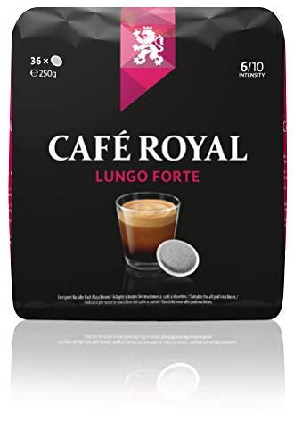 Café Royal Dosettes de café Lungo Forte, compatibles...