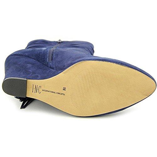 INC International Concepts Everleeh Rund Wildleder Mode-Stiefeletten Eclipse Blue