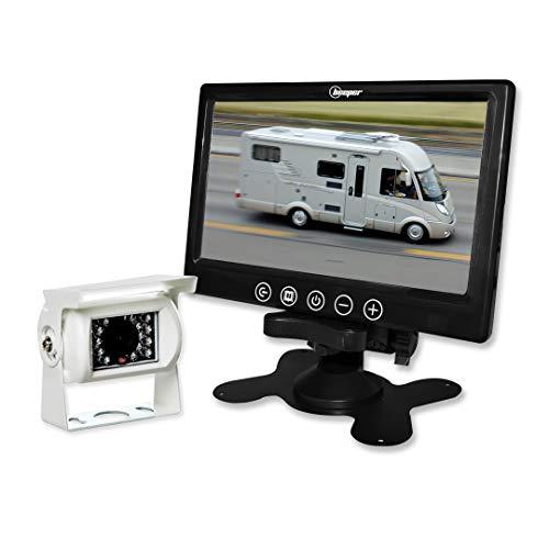 Caméra de recul Camping-Car 7 Pouces caméra Blanche RWEC79X BEEPER