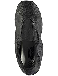 Slazenger Ninos Cuero Gimnasio Zapatillas Zapatos Deporte Running Entrenar Panel