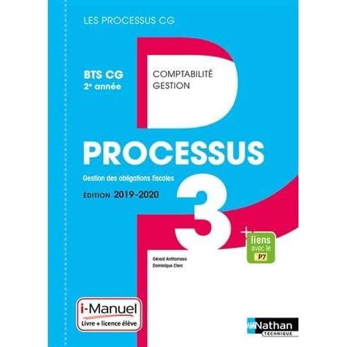 Processus 3 - Gestion des Obligations Fiscales BTS CG 2e année