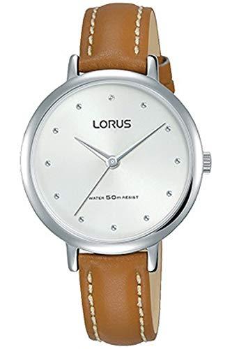 Lorus Woman Reloj para Mujer Analógico de Cuarzo con Brazalete de Piel de Vaca RG275PX8