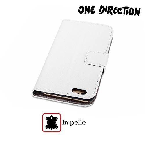 Offizielle One Direction Sofa Harry Made In The A.m. Brieftasche Handyhülle aus Leder für Apple iPhone 5 / 5s / SE Sofa Niall
