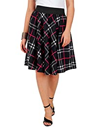 BLACK-FUSCHIA CHECK PRINT