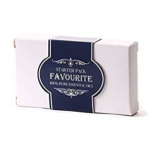 "Mystic Moments - Set di 5 oli essenziali ""Favourites"", 10 ml, 100% puri"
