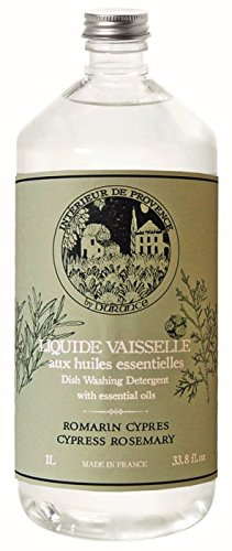 Durance en Provence - Geschirrspülmittel Rosmarin-Zypresse 1 L inkl. Pumpdrücker