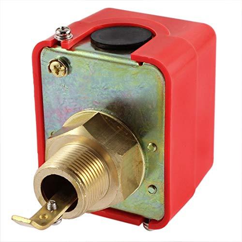 AC 250V HFS-20 3/4BSP 5A 10Bar SPDT Wasser Fließen Paddel Kontroller Schalter -