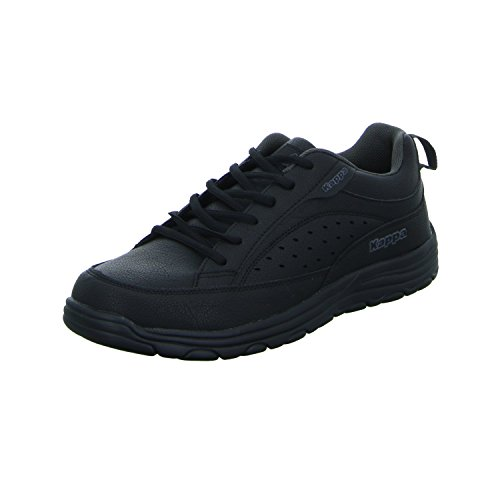 Kappa Herren Grado Sneaker Schwarz (1113 Black/Anthra)