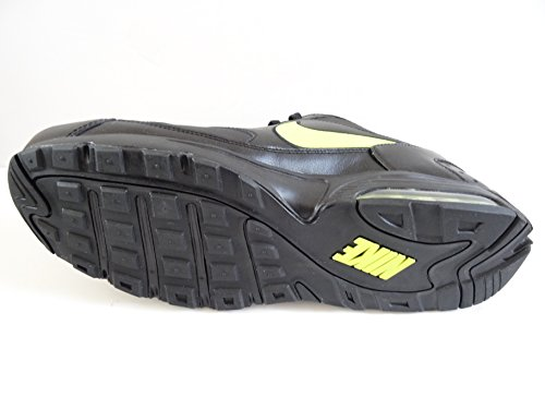 Nike Air Max Faze Leder Herren Sportschuhe 488120Sneakers Schuhe black cyber 030