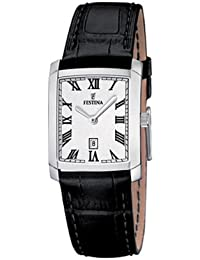 Festina Damen-Armbanduhr XS Klassik Analog Quarz Leder F16513/4