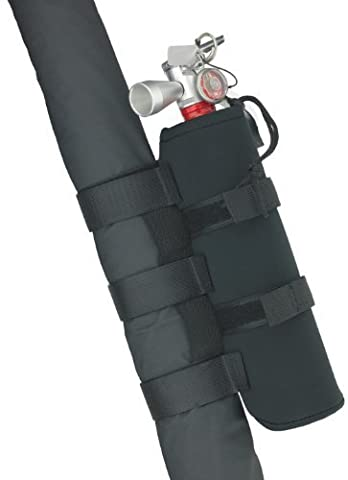 Smittybilt 769540 Black Roll Bar Holder for 2.5 lbs. Fire