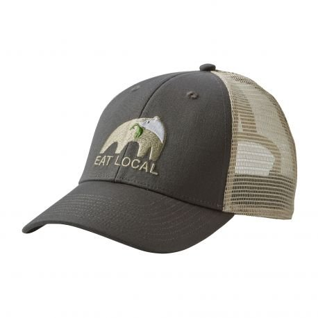 casquette-trucker-lopro-eat-local-upstream-anthracite-patagonia-ajustable