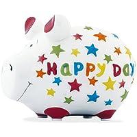 KCG Spardose Schwein Happy Day klein preisvergleich bei kinderzimmerdekopreise.eu