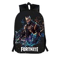 Fort Battle Royale Backpack, School Backpack Fashion Schoolbag for Kids Girls Boys,Game Fans Gift(E13)