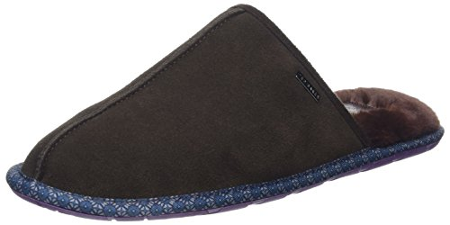 Ted Baker Men Youngi 2 Pantofole Marrone (marrone)