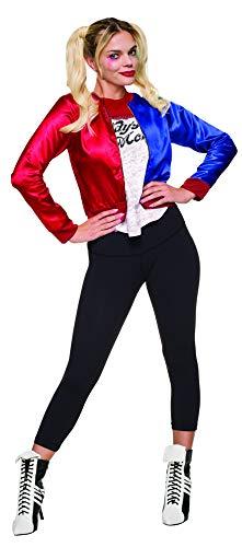 Erwachsene Kostüm Für Kit Monster - Rubie's Offizielles Suicide Squad Damen Harley Quinn Joker Kostümkit, Mehrfarbig, L (Herstellergröße: 14-16)