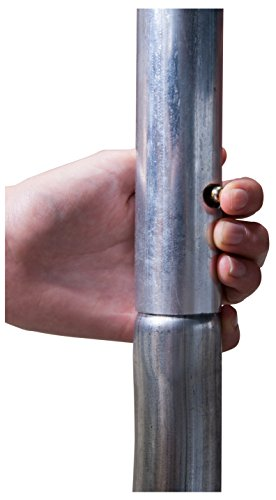 HUDORA Trampolin Fantastic 400 cm – Gartentrampolin mit Sicherheitsnetz - 3