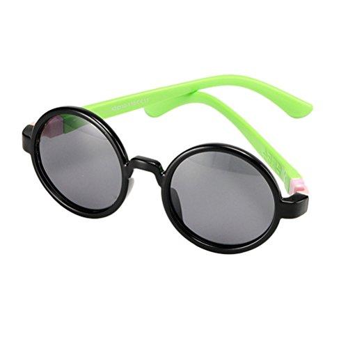 Zhhlinyuan Fashionable Color Protection Connector Detachable Enfants Polarized Sunglasses Love for Children Polarized Connector