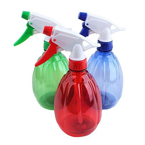 Mister Flasche (500ml Multifunktions Kunststoff Fellpflege Spray Flasche Salon Hair Garten Pflanzen Wasser Mister Spray Flasche Werkzeug zufällige Farbe)