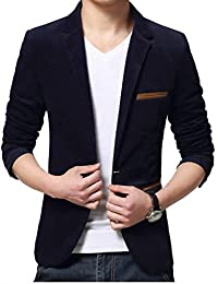 13dee9326356 Huixin Men's Classic Slim Fit Long Sleeve Blazer Blazer Business Short Party  Leisure Jacket Suit Jacket