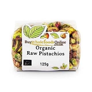 Organic Pistachio Nuts 125g