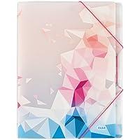 Elba - 100209025 - Graphyk Trieur Imprimé 8 Intercalaires Polypropylène Translucide A4 Couleur Aléatoire
