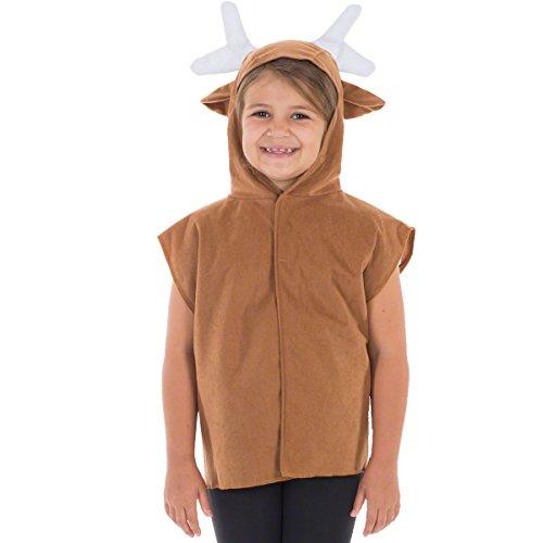 Unbekannt Charlie Crow Rentier kostüm für Kinder - -