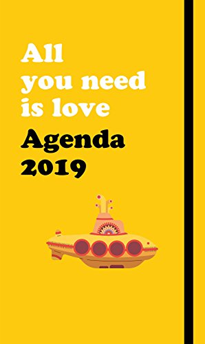 Agenda anual The Beatles 2019: All you need is love (SIN COLECCION)