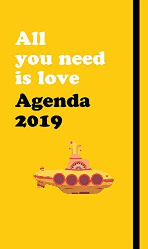 Agenda anual The Beatles 2019: All you need is love (SIN COLECCION) por Jordi Sierra i Fabra