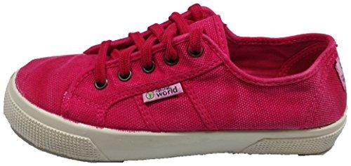 NATURAL WORLD ECO, Espadrillas basse donna rosa 39 rosa Size: 39