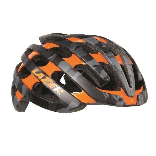 Lazer Z1 Fahrradhelm, Black/Camo Flash Orange, L