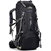 S-D Waterproof Hiking Backpack, 45L + 5L 50L 65L + 5L Nylon Large Capacity to meet Sport Camping Travel Trekking Rucksacks Pack Mountaineering Climbing Knapsack (Sports & Outdoors)